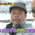 満天☆青空レストラン/山形・雪菜&米沢牛 20160130