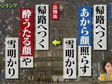 プレバト才能ランキング【リベンジ!芥川賞・羽田圭介vs毒舌先生】 20160204
