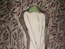 日曜美術館「にじむ心 ふるえる命 版画家・恩地孝四郎の色とかたち」 2016020