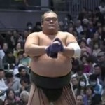 大相撲春場所 初日 ▽綱取りなるか 琴奨菊 20160313