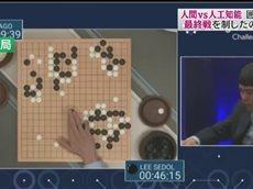 NEWS23 人工知能は本当に無敵か? 「AI囲碁」最終対局で見えてきたこと 20160315