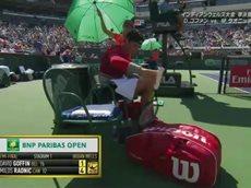 ATPテニス マスターズ1000 BNPパリバオープン~インディアンウェルズ~ 20160319