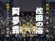 大相撲 幕内の全取組「春場所 十一日目」 20160323