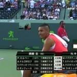 錦織出場 ATPテニス マスターズ1000 マイアミオープン 男子シングルス 20160402