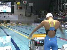 競泳 リオデジャネイロオリンピック代表決定戦~第92回日本水泳選手権~ 2日目 20160405