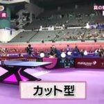 グッと!スポーツ「嵐・相葉が初MC!卓球女王のスゴ技を体感!」 20160411