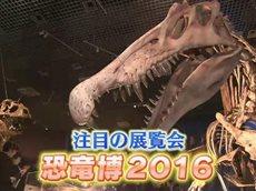 東京サイト 『恐竜博2016』 20160503