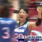 2016リオ五輪 バレーボール世界最終予選 女子日本×オランダ 20160522