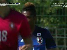 トゥーロン国際サッカー大会 グループB「日本」対「ポルトガル」 20160523
