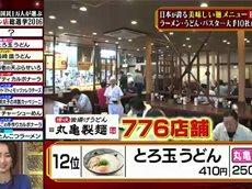 日本国民がガチ投票!麺チェーン店総選挙2016 20160529