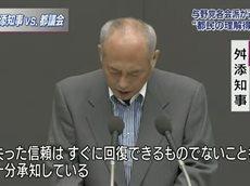 ニュースウオッチ9▽「せこすぎる」舛添知事に批判相次ぐ 東京都議会で代表質問 20160607