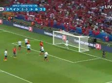 サッカー・UEFAユーロ2016 スペイン×トルコ 20160617