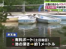 Nスタ 東京・目黒の公園池からバラバラ遺体…死体遺棄事件か▽中継で最新情報 20160623