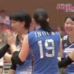 女子バレーボールワールドグランプリ2016 日本vsタイ 20160624