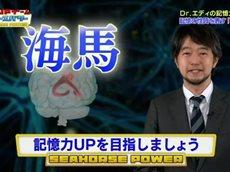 記憶力UPゲームシーホースパワー!「#1」【司会:ピエール瀧,岡部磨知】 20160625
