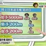 SPORTSウォッチャー▽大谷先発か163キロ更新?増田明美が斬る日本陸上 20160626