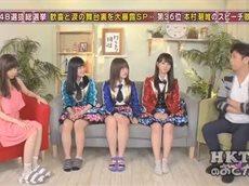 HKT48のおでかけ! 衝撃…総選挙ランクインメンバーが空き巣被害を激白! 20160630
