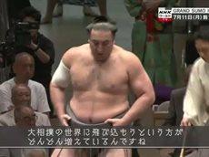 Doki Doki! ワールドTV「大相撲は世界のGRAND SUMO」 20160703