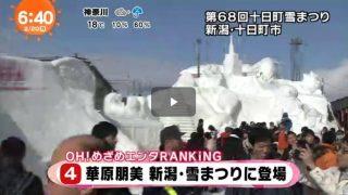 めざましテレビ 20170220