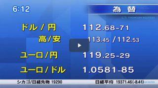 Newsモーニングサテライト【中国で自転車通勤復活?】 20170224