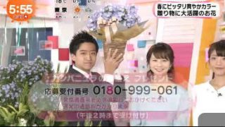 めざましテレビ 20170320