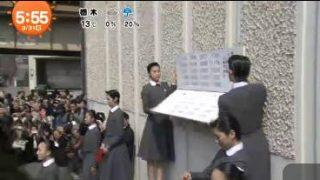 めざましテレビ 20170331