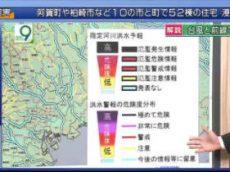 ニュースウオッチ9▽台風上陸・今後関東に最接近▽北朝鮮・ICBMか?性能は 20170704