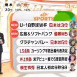 めざましテレビ 20170911