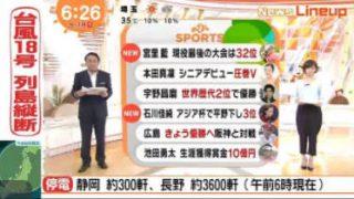 めざましテレビ 20170918