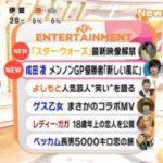 めざましテレビ 20171011