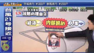 これでわかった!世界のいま ▽なぜ?1か月余の沈黙 北朝鮮の最新動向分析 20171022 1810 日曜日 NHK総合