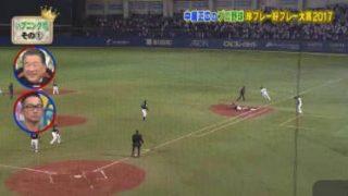 ニチファミ!・中居正広のプロ野球 珍プレー好プレー大賞2017 20171126