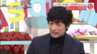 あさイチ「プレミアムトーク ディーン・フジオカ」 20171201