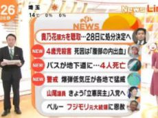 めざましテレビ 20171226