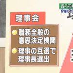 """ニュースウオッチ9▽貴乃花親方""""理事解任""""その理由は▽有馬が軍事境界線へ 20180104"""