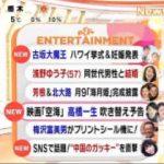 めざましテレビ 20180112