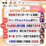 めざましテレビ 20180118