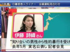 クローズアップ現代+「#MeToo 広がる世界 でも日本は…」 20180122