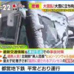 ビビット 東京都心で23センチ積雪 交通大混乱 首都高トンネル大渋滞も   20180123