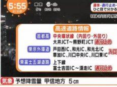 めざましテレビ 20180202