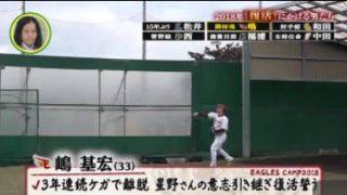 SPORTSウォッチャー▽プロ野球キャンプ 中畑清が舞台裏潜入取材!ほか 20180203