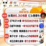 めざましテレビ 20180207