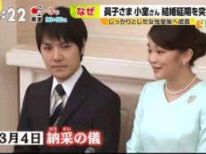 ビビット 眞子さまと小室圭さんの結婚延期へ…なぜ? 20180207