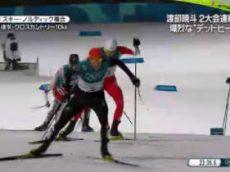 "NEWS ZERO 女子1000メートルで小平""銀""・木美帆が""銅"" 20180214"