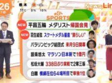 めざましテレビ 20180227