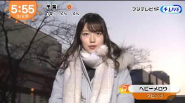 めざましテレビ 20180302