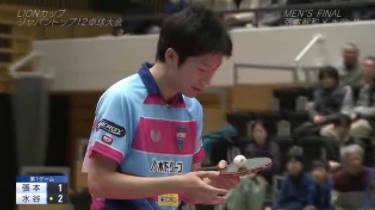 卓球ジャパントップ12<フジバラナイト SAT> 20180310
