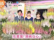 めざましテレビ 20180320