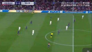 UEFAチャンピオンズリーグ17-18準々決勝1st leg バルセロナ×ローマ 20180405