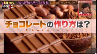 NEWSな2人【知られざるチョコレートの世界!ショコラティエを夢見る若者たち!】 20180511